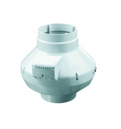Ventilator centrifugal de tubulatura diam 100mm, 250mc/h