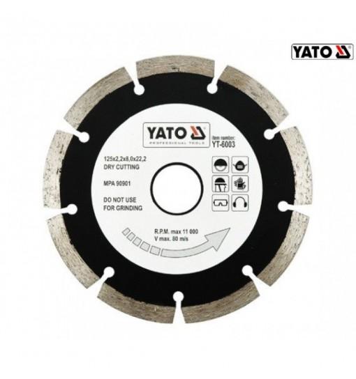 Disc Diamantat Segmentat HS 125 mm