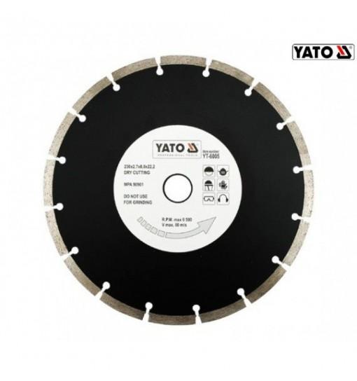 Disc Diamantat Segmentat HS 230 mm