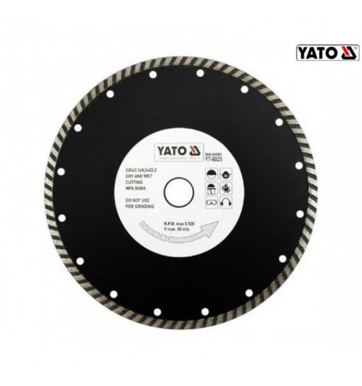 Disc Diamantat Turbo 230 mm