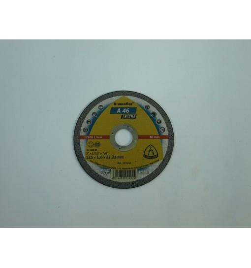 Disc taiere inox 125x1.6x22.23mm