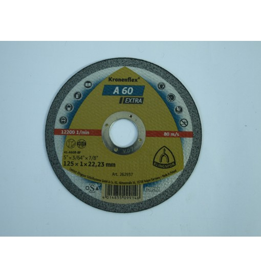 Disc taiere inox 125x1x22.23mm