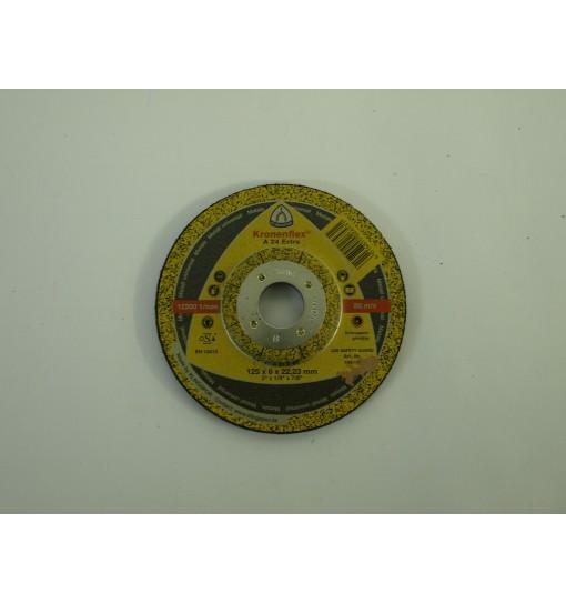 Disc polizare metal 125x6x22.23mm
