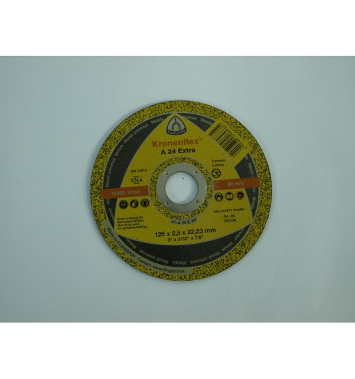 Disc taiere metal 125x2.5x22.23mm