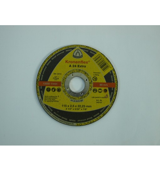 Disc taiere metal 115x2.5x22.23mm