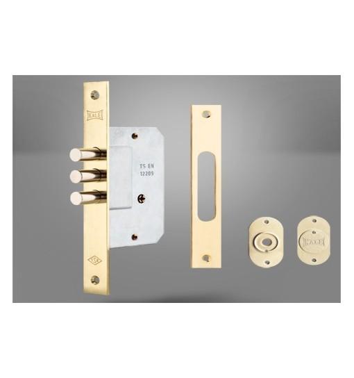 Incuietoare de siguranta incastrata pentru usi de metal si lemn 189 3MF (Broasca usa)