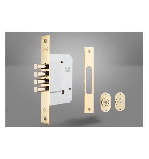Incuietoare de siguranta incastrata pentru usi de metal si lemn 189 4MF (Broasca usa)