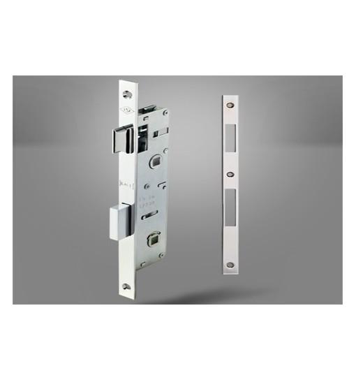 Incuietoare pentru usi de interior / baie cu blocaj 269 P WC, 25mm (Broasca usa)