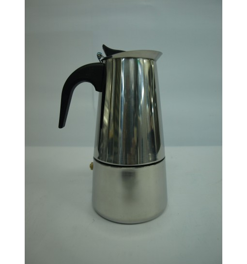 Cafetiera Espresso Inox 6 Cesti