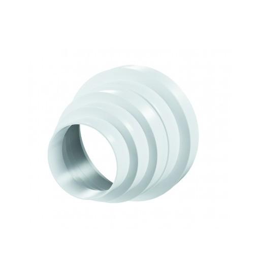 VENTS Reductie universala 80-100-120-125-150mm, grosime perete plastic 2.5mm