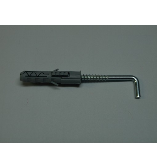 Surub de ancorare/deblocare cadru cu carlig si diblu PX8 8x40