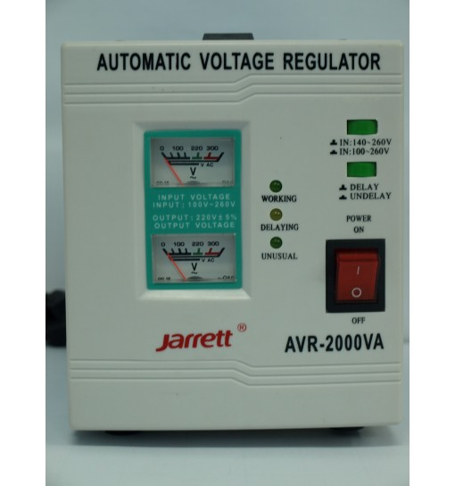 Stabilizator tensiune Jarrett AVR-2000VA