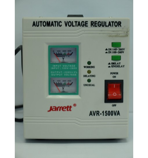 Stabilizator tensiune Jarrett AVR-1500VA