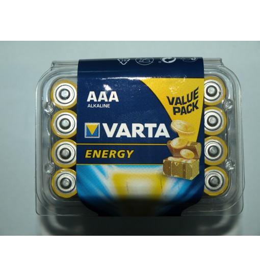 Set 24 baterii Varta Energy AAA/R3 alkaline