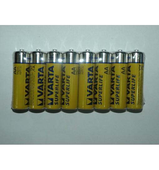 Set 8 baterii Varta Superlife AA/R6