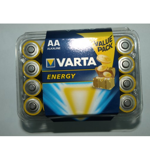 Set 24 baterii Varta Energy AA/R6 alkaline