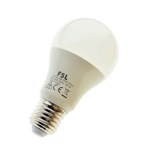 Bec LED E27 9w nature white  FSL