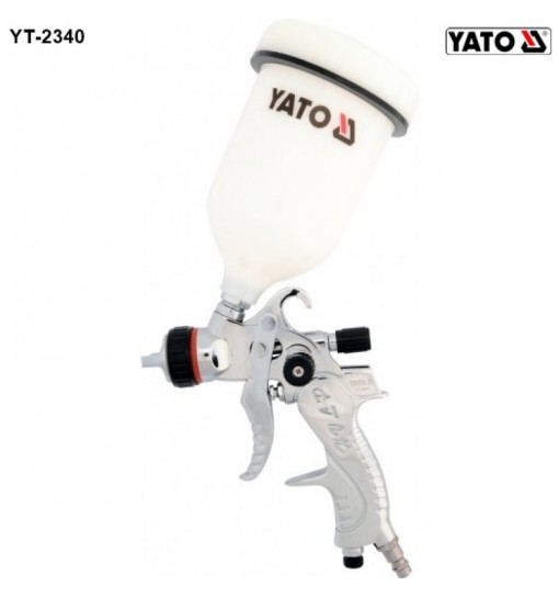 Pistol de Vopsit cu Rezervor Plastic 0.6L