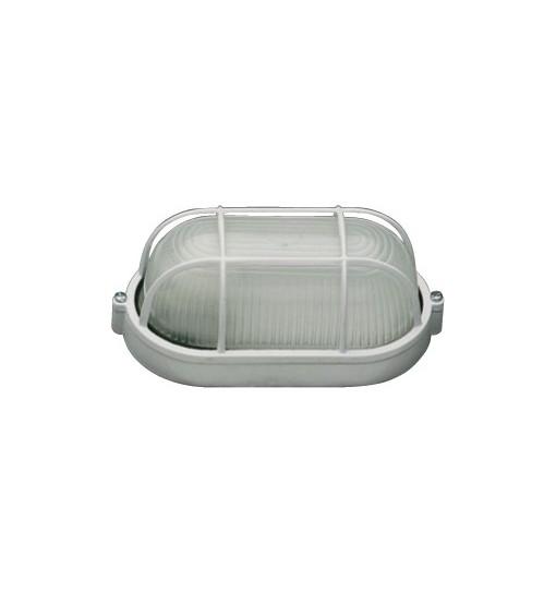 LAMPA BAT GRILA, 1XE27, MAX.60W, ALB, TG-3201.02