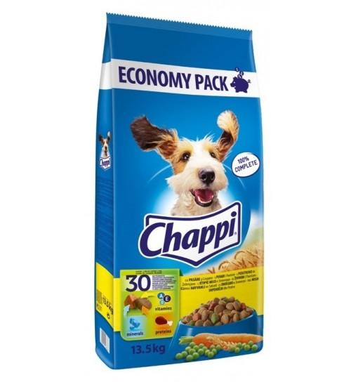 Chappi Hrana uscata cu Pui si Legume, 13.5kg