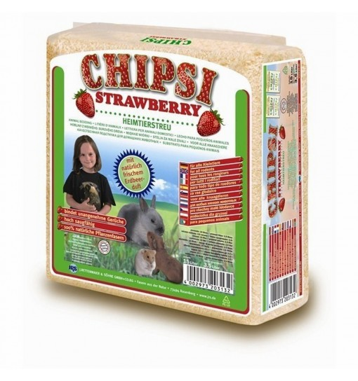 Chipsi strawberry 15 l